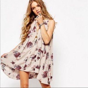 Free People Swing Tree Floral Print Tunic/Dress